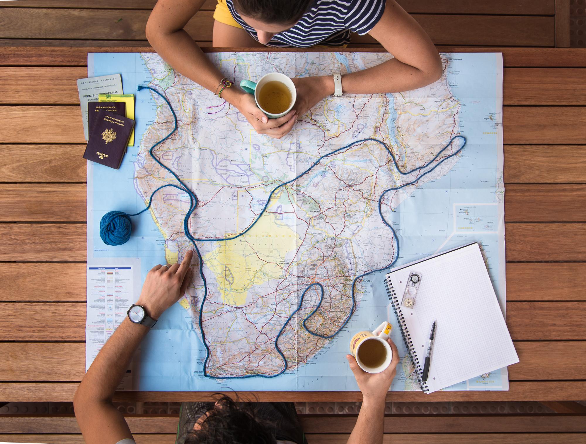 Et un nouveau projet : partir sur les routes d'Afrique Australe
